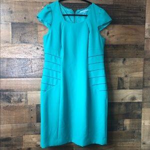 Antonio Melani Green Fitted Business Dress